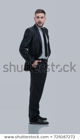 表示 · 魅力的な · ビジネス · 執行 · ポーズ - ストックフォト © stockyimages