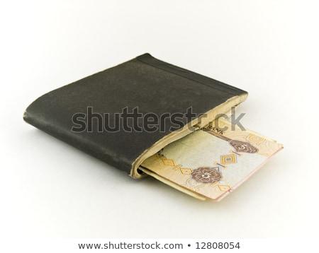Edad blanco doblado papel viejo negocios comunicación Foto stock © bobbigmac