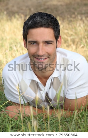 tall fellow with dark hair Stock photo © photography33