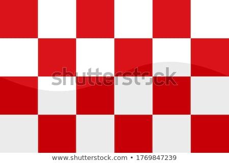 noorden · vlag · groot · maat · Nederland · regio - stockfoto © tony4urban