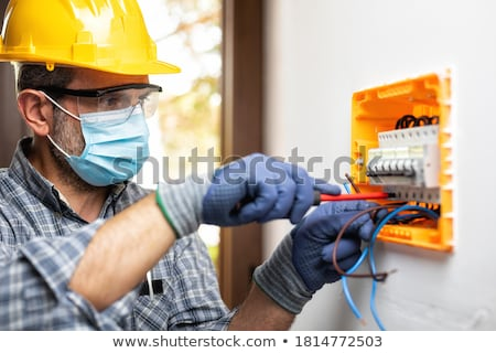 two electricians at work stock photo © photography33