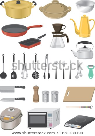 Cartoon Home Kitchen Coffee Pot stock photo © RAStudio
