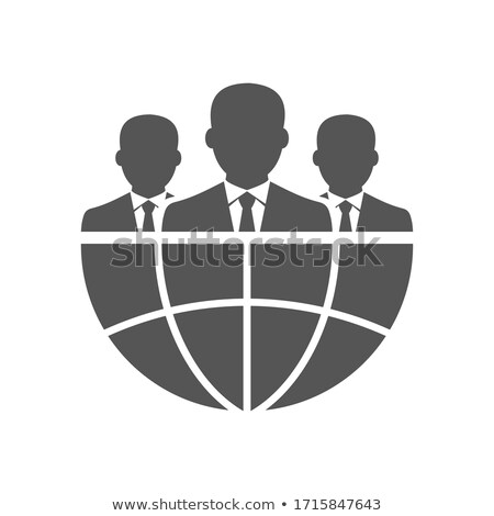 Businessman with Globe stock photo © WaD
