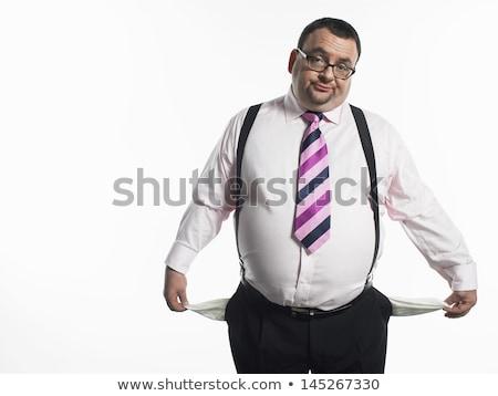 üzletember üres fehér üzlet háttér stressz Stock fotó © wavebreak_media