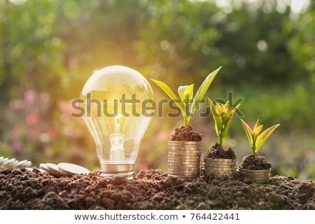 energy saving - ecological energies Stock photo © olivier_le_moal