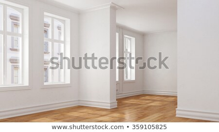 Stock photo: Empty apartment building in Berlin