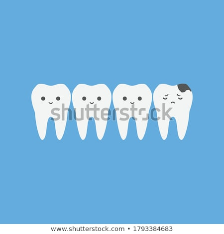 Cavity tooth decay disease symbol  Stock photo © Lightsource