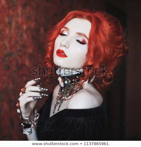 Moda mujer sexy jóvenes garra Foto stock © feedough