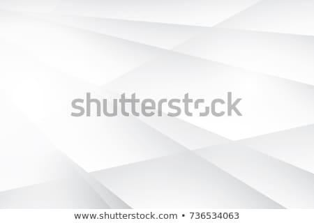 Blauw · 3D · futuristische · kubus · abstractie · plaat - stockfoto © monarx3d