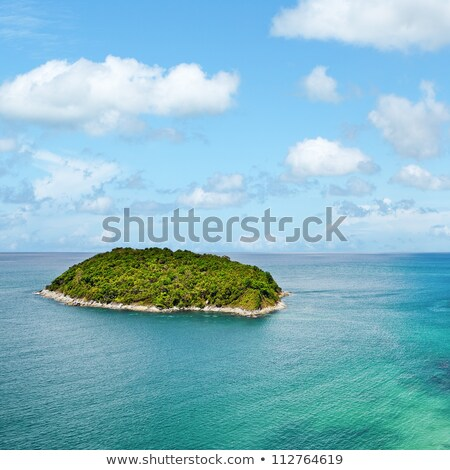Tropical sea scenery. Square composition. Stock photo © moses
