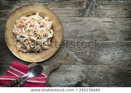 пасты · морепродуктов · каменные · таблице · Top - Сток-фото © m-studio