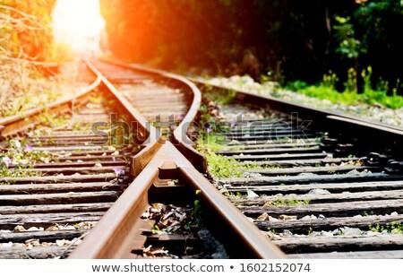 鉄道 業界 トラック 屋外 カナダ 交通 ストックフォト © rhamm