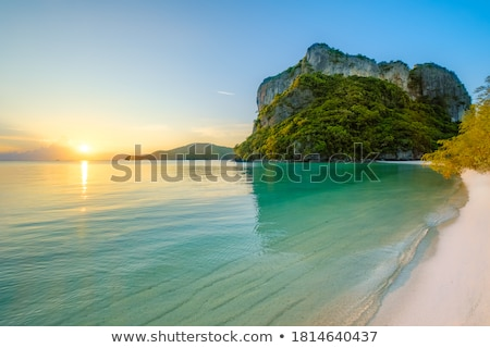 Tropical bay landscape Stock photo © jrstock
