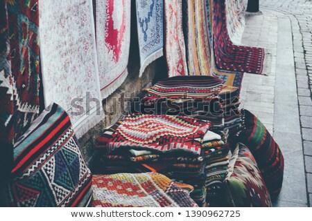 coloré · textiles · marché · détail · industrie · tissu - photo stock © rhamm