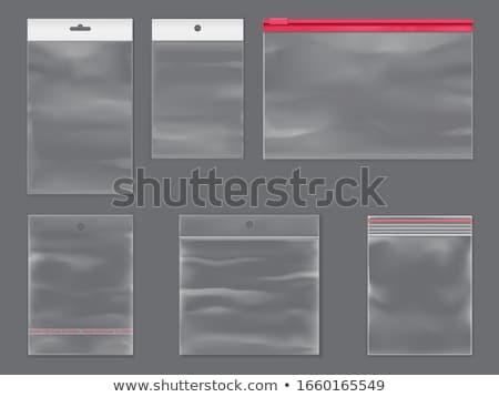 Closed lock zipper Stock photo © cherezoff