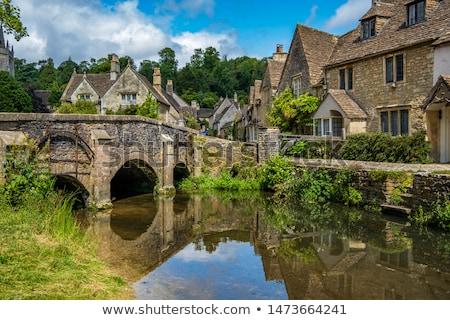 English Castle, Cotswold, England Stock photo © jayfish
