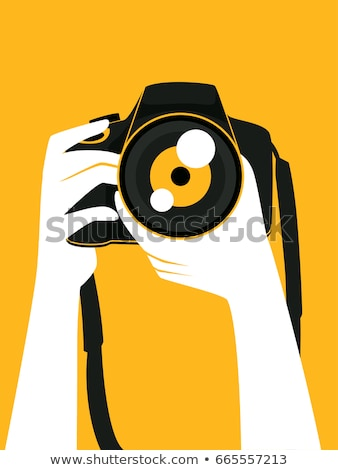 カメラ 手 ストラップ 白 黒 写真 ストックフォト © FOKA