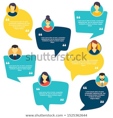 Feedback Speech Bubble Concept Stock photo © ivelin