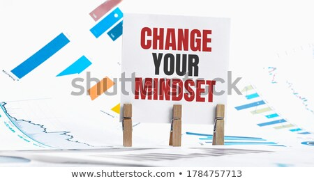 mindset blue marker stock photo © ivelin