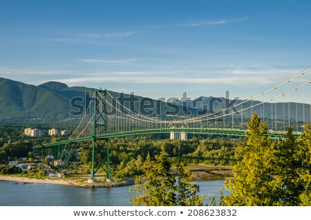 Lions Gate at Dusk Stock photo © jameswheeler