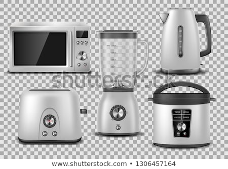 electric kitchen juicer vector illustration Stock photo © konturvid