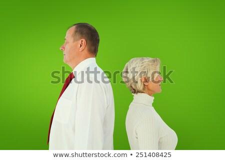 Ouder paar permanente niet ander Stockfoto © wavebreak_media