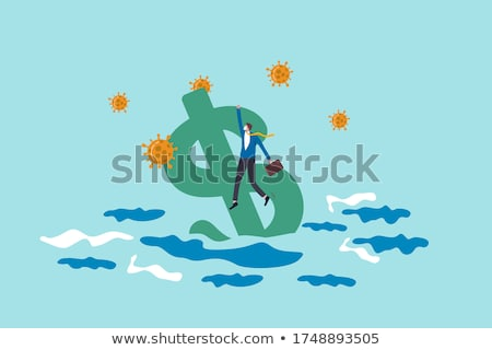 Sinking USA Currency Stock photo © cosma