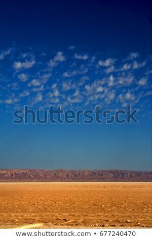 Sáhara desierto arena nube solo colores Foto stock © lkpro