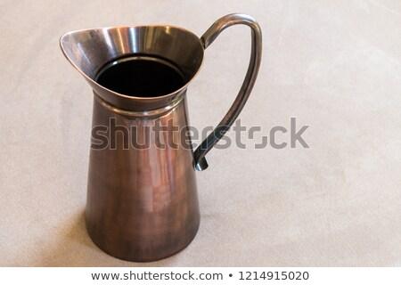 Vintage metal pitcher Stock photo © Valeriy