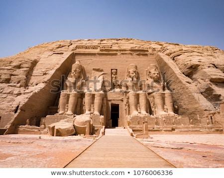 Abu Simbel temple Stock photo © alphaspirit
