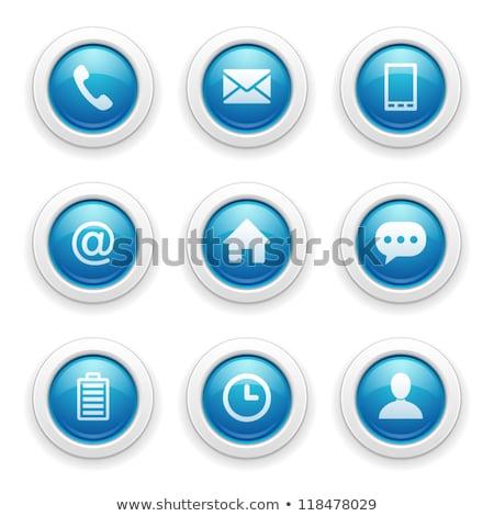 Battery Purple Vector Icon Button Stock photo © rizwanali3d