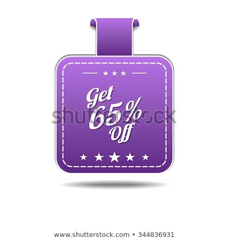 Get 65 Precent Off Violet Vector Icon Stock photo © rizwanali3d