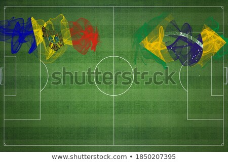 Brazil and Moldova Flags Stock photo © Istanbul2009