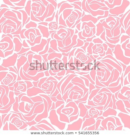 seamless roses pattern stock photo © grivina