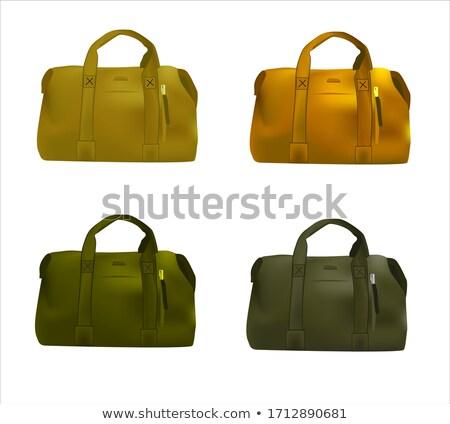 durum · güzellik · kutu · portre · çanta - stok fotoğraf © shutswis