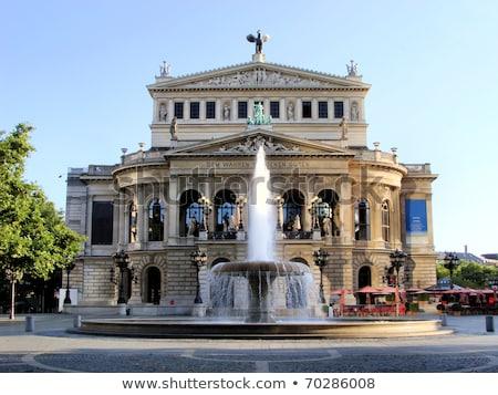 パリジャン · オペラ · 午前 · フランス · 雲 · 建物 - ストックフォト © meinzahn