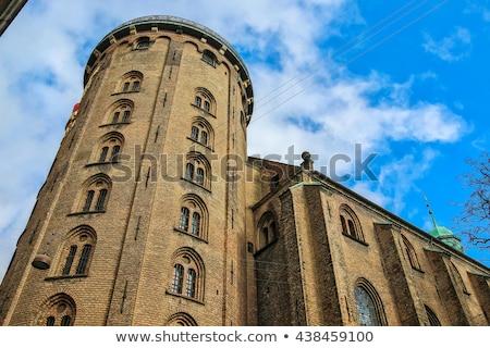 Toren centraal Kopenhagen Denemarken Blauw kasteel Stockfoto © vladacanon