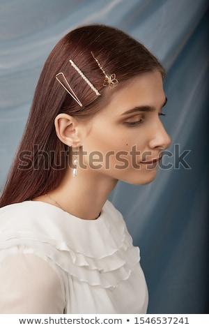 spiffy girl Stock photo © ssuaphoto