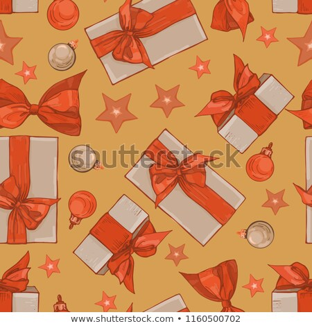 Ornament Celebratory Gift Box. Stock photo © kayros