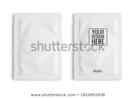 Clear white packet Stock photo © Cipariss