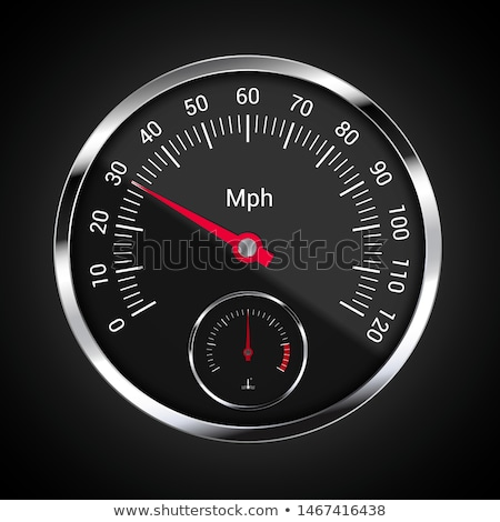 car speedometer vector stock photo © igorlale