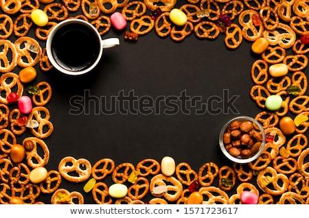 Amêndoa bolinhos italiano mini doce comida italiana Foto stock © Digifoodstock