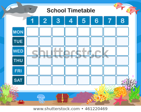 Times tables chart with underwater background Stock photo © bluering