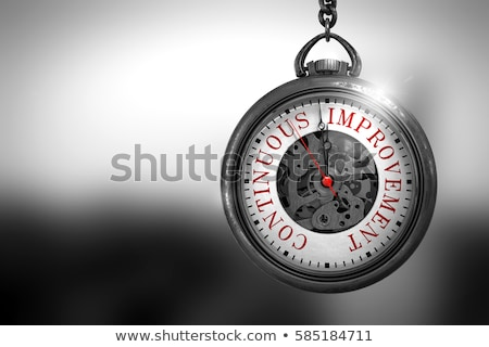 process improvement on watch 3d illustration stock photo © tashatuvango