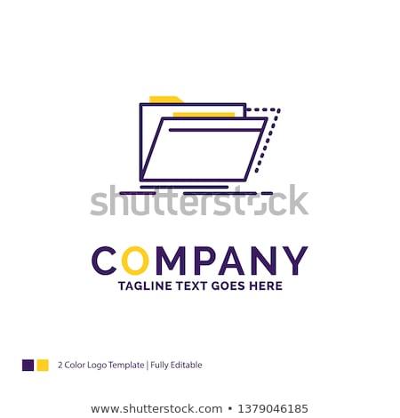 catalogs   folder name in directory stock photo © tashatuvango