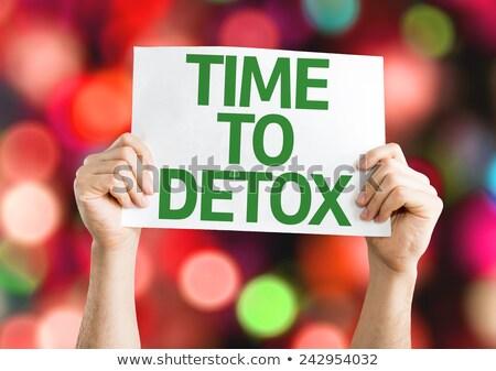 Detox inspiration Stock photo © unikpix