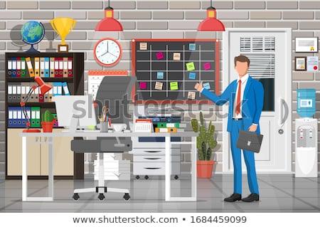 Businessman in a locker room Stock photo © IS2
