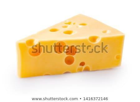 Stockfoto: Ingesteld · kaas · witte · illustratie · achtergrond · kunst