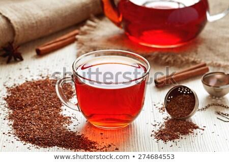 赤 · 茶 · 白 · カップ · ホットドリンク · 緩い - ストックフォト © melnyk