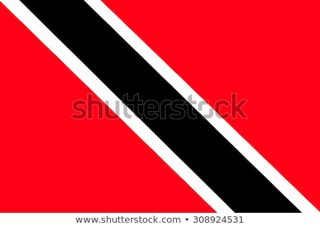 trinidad and tobago flag, vector illustration Stock photo © butenkow